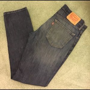 LEVIS 511 MENS MODERN SLIM FIT JEANS 33x32